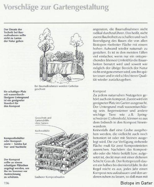 Hinweise zum Komposthaufen